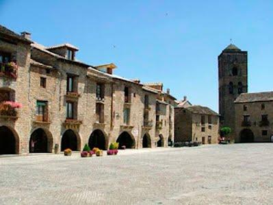 TURISMO VERDE HUESCA. Caserio San Marcial de Salinas de Sin